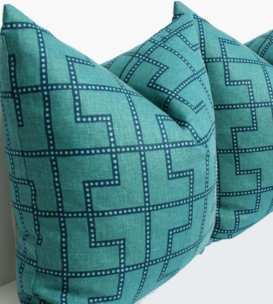 Pillows in Bleecker in Peacock