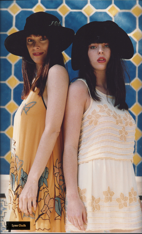 One-of-a-kind Hand Beaded Silk Dresses by Lynn Chalk