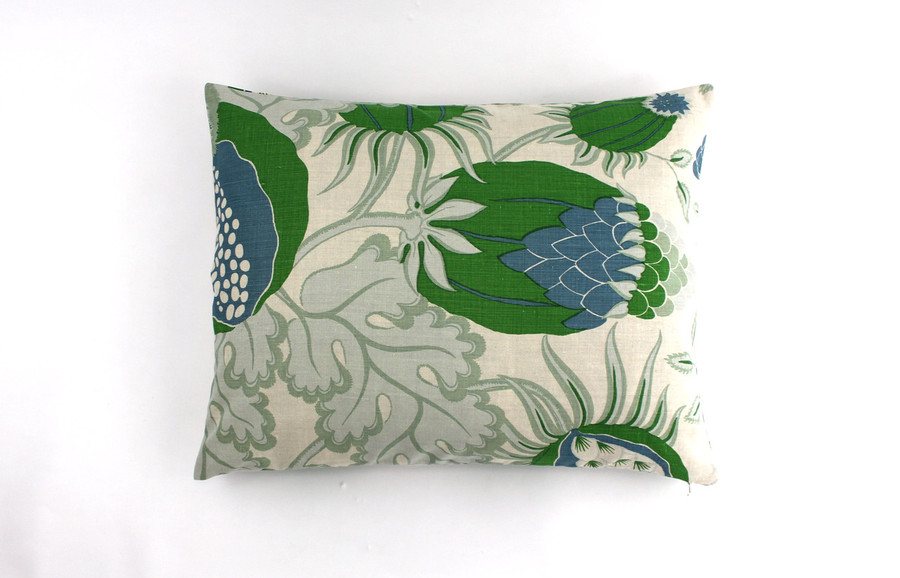 Pillow Shams 20 X 26 in Carnival in Green