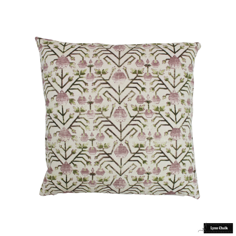 Zak & Fox Khotan Pillow in Pembe (22 X 22)