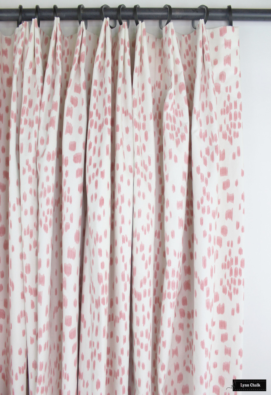 Custom Drapes in Les Touches Petal