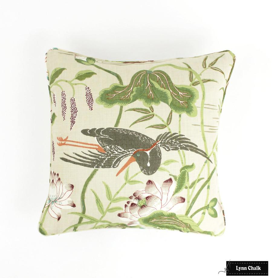 Schumacher Lotus Garden Jade 172935
