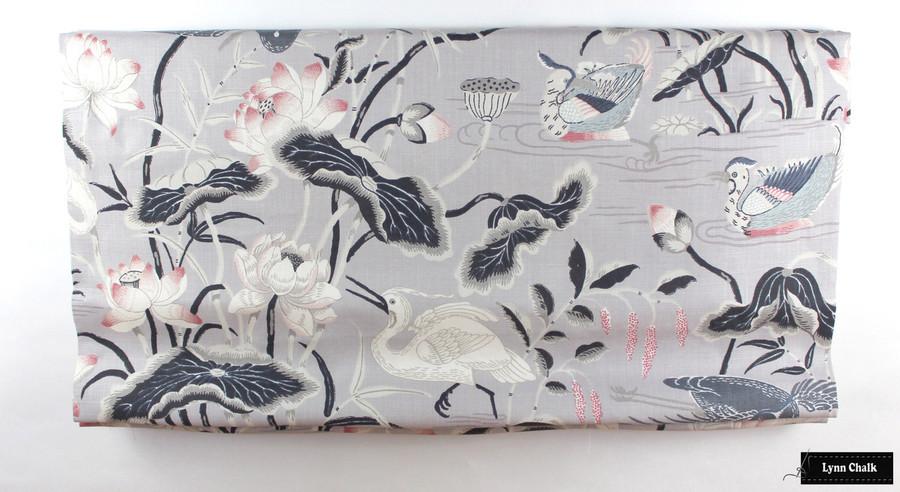 Schumacher Lotus Garden Parchment Wallpaper 5008431