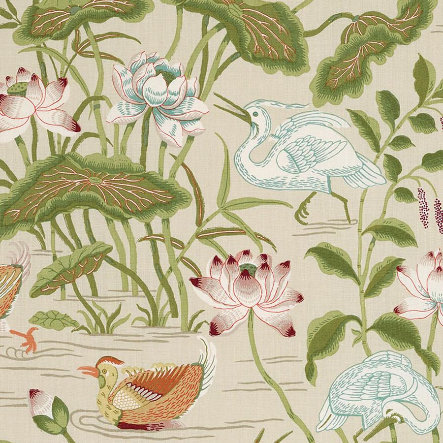 172936 Lotus Garden Parchment