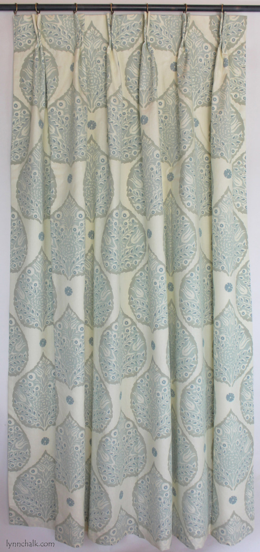 Galbraith & Paul Lotus Double Wide Roman Shade in Custom Colors