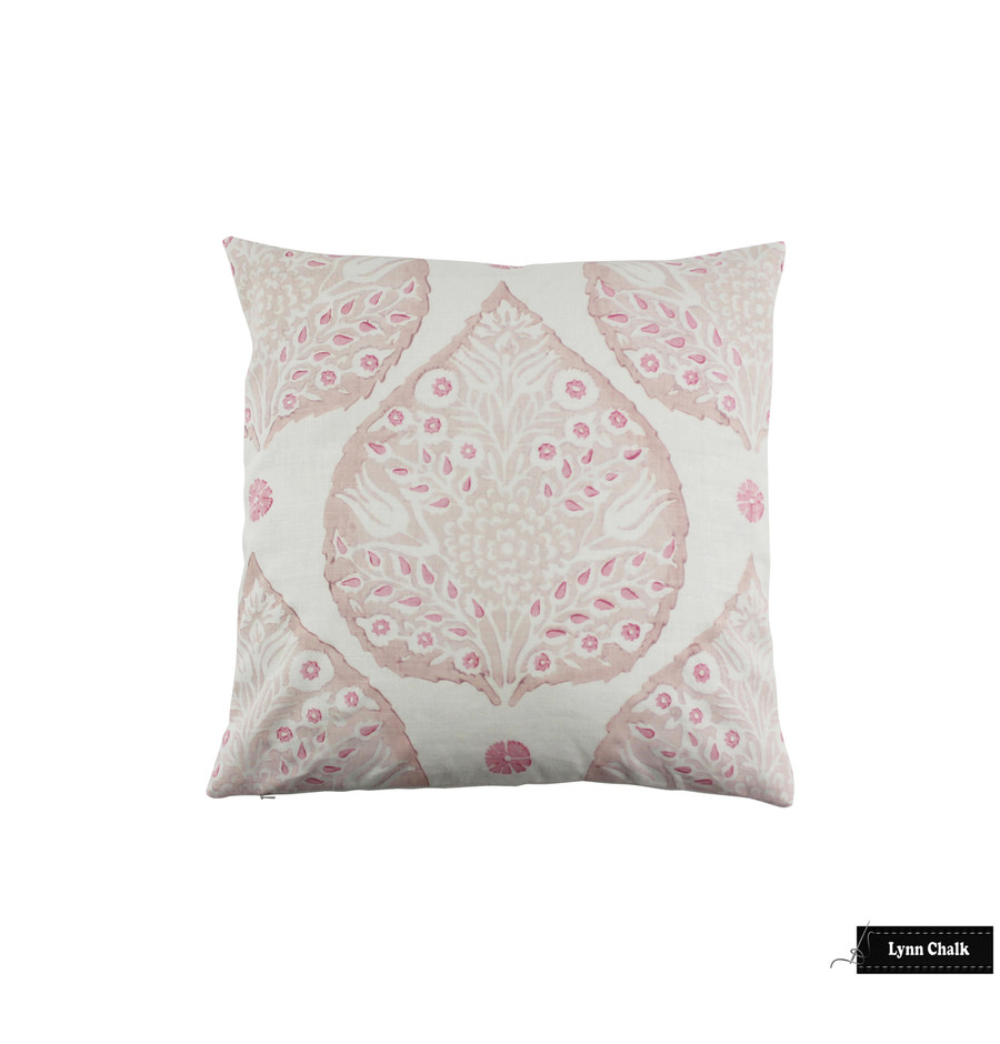 Lotus Pillows in Custom Colors (Rose Quartz inside lotus, Blossom outside Lotus, Punch small petals)