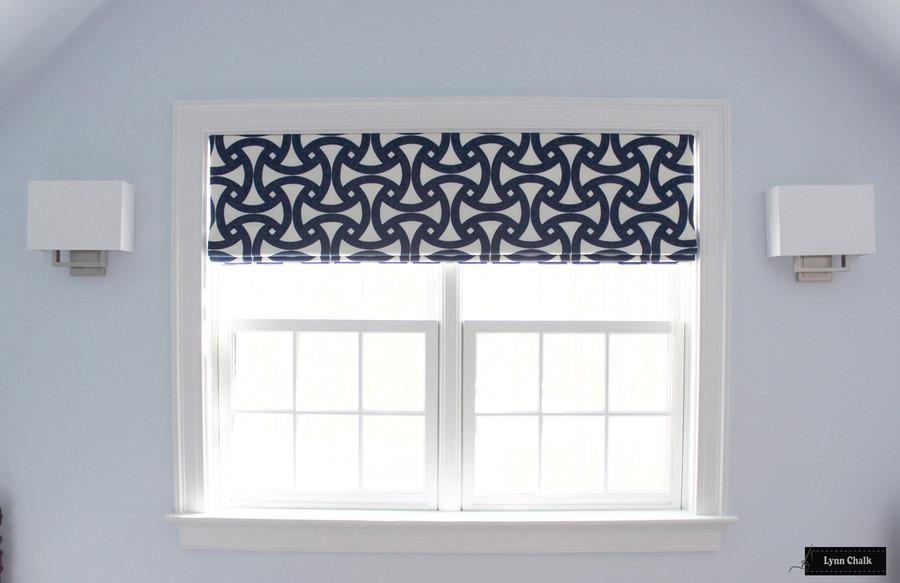 Trina Turk for Schumacher Santorini Print Sky Indoor Outdoor Fabric