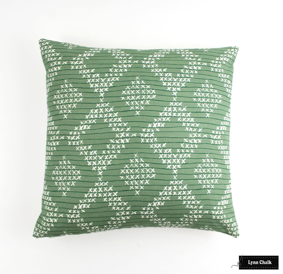Sister Parish Pocantico in Fern 20 X 20 Pillow
