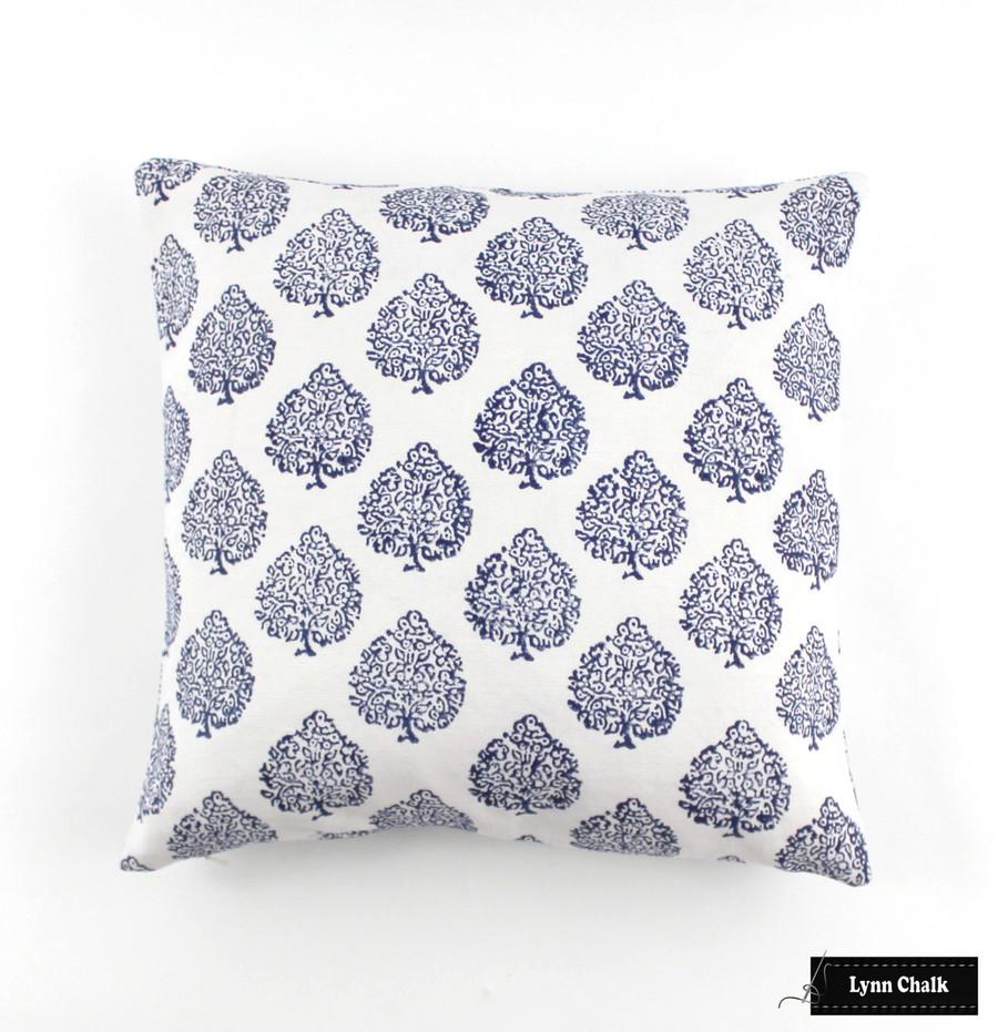 John Robshaw Mali Indigo Pillow (16 X 16)