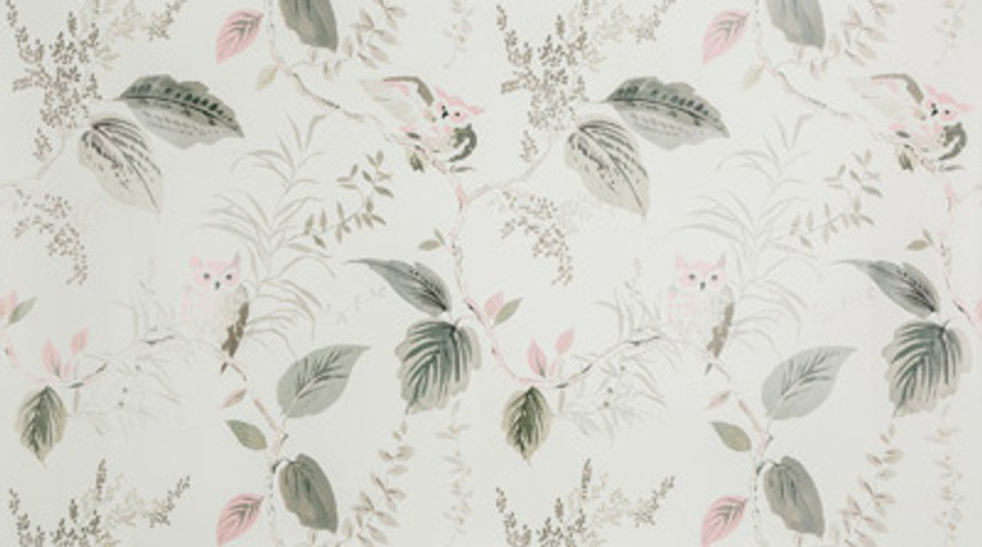 W3331 11 Owlish Wallpaper in Blush