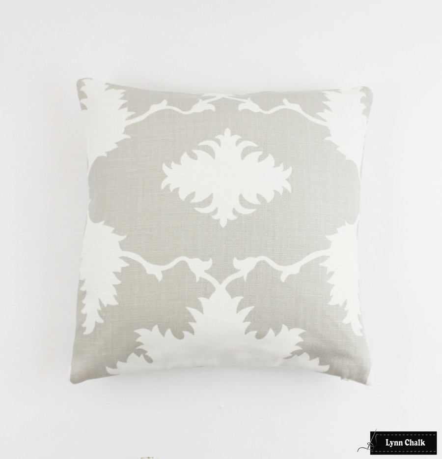 ON SALE 65% Off - Schumacher Mary McDonald Garden of Persia Dove Pillows (Both Sides) Made To Order