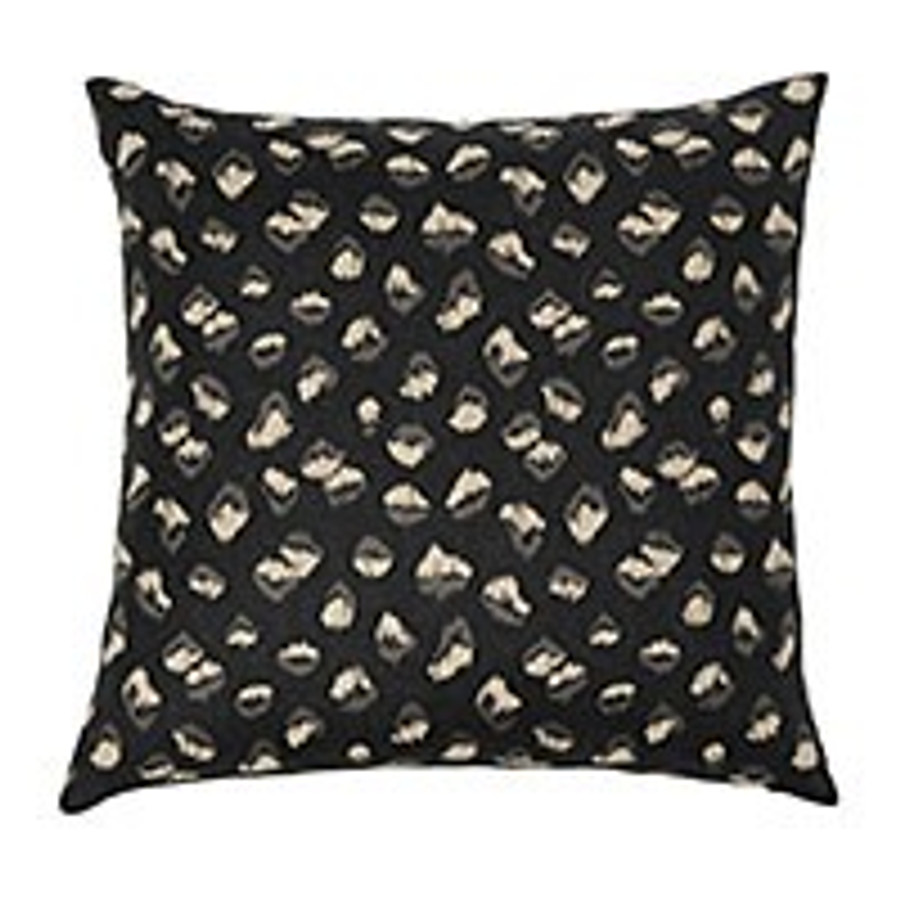 Pillow in Kelly Wearstler Feline Ebony Beige GWF-3106_816