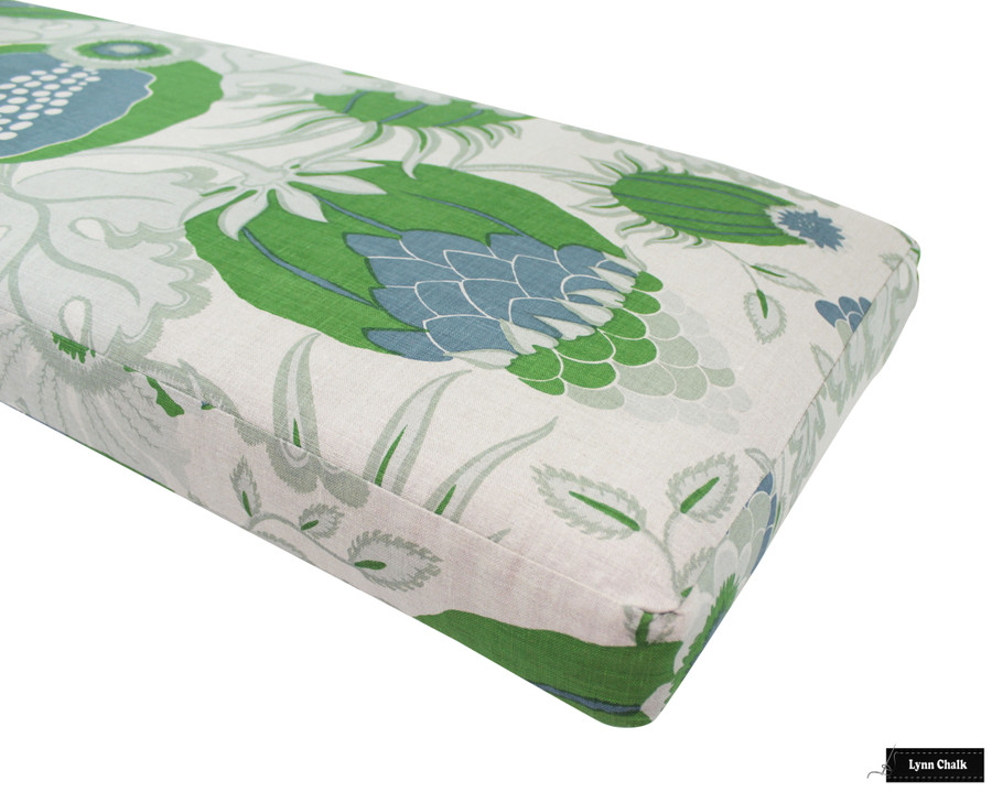 Christopher Farr Carnival Pillows (Both Sides with Welting-shown in Green-comes in several colors) 2 Pillow Minimum Order