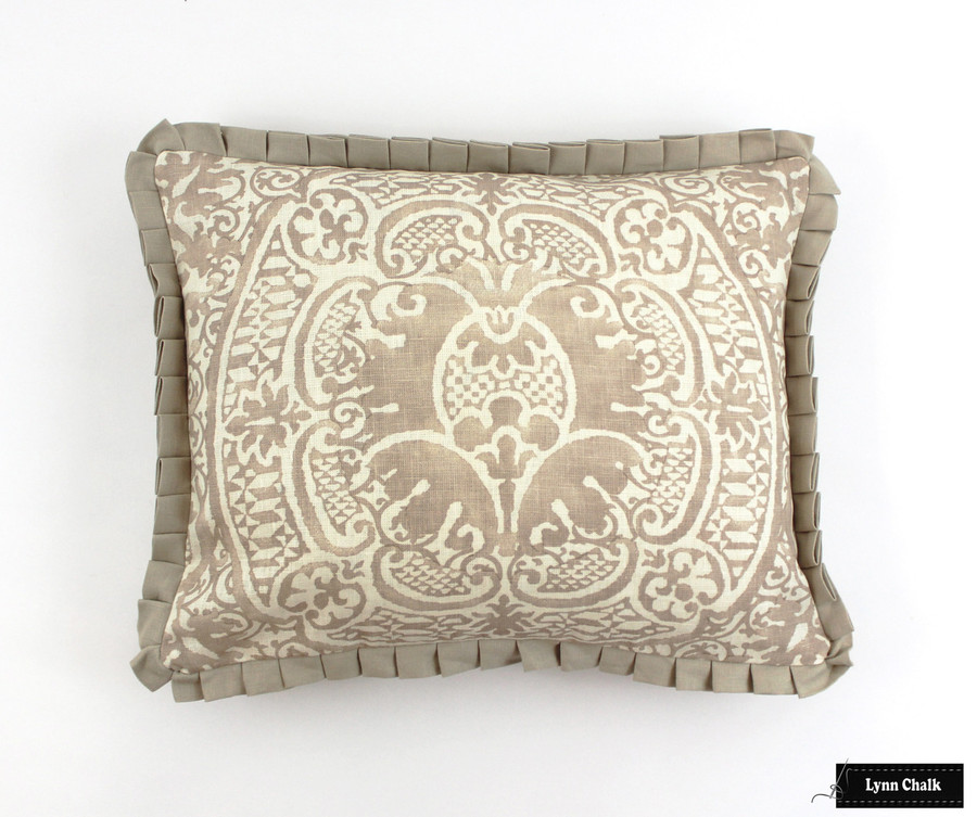 Veneto Pumice Pillow with Ruching