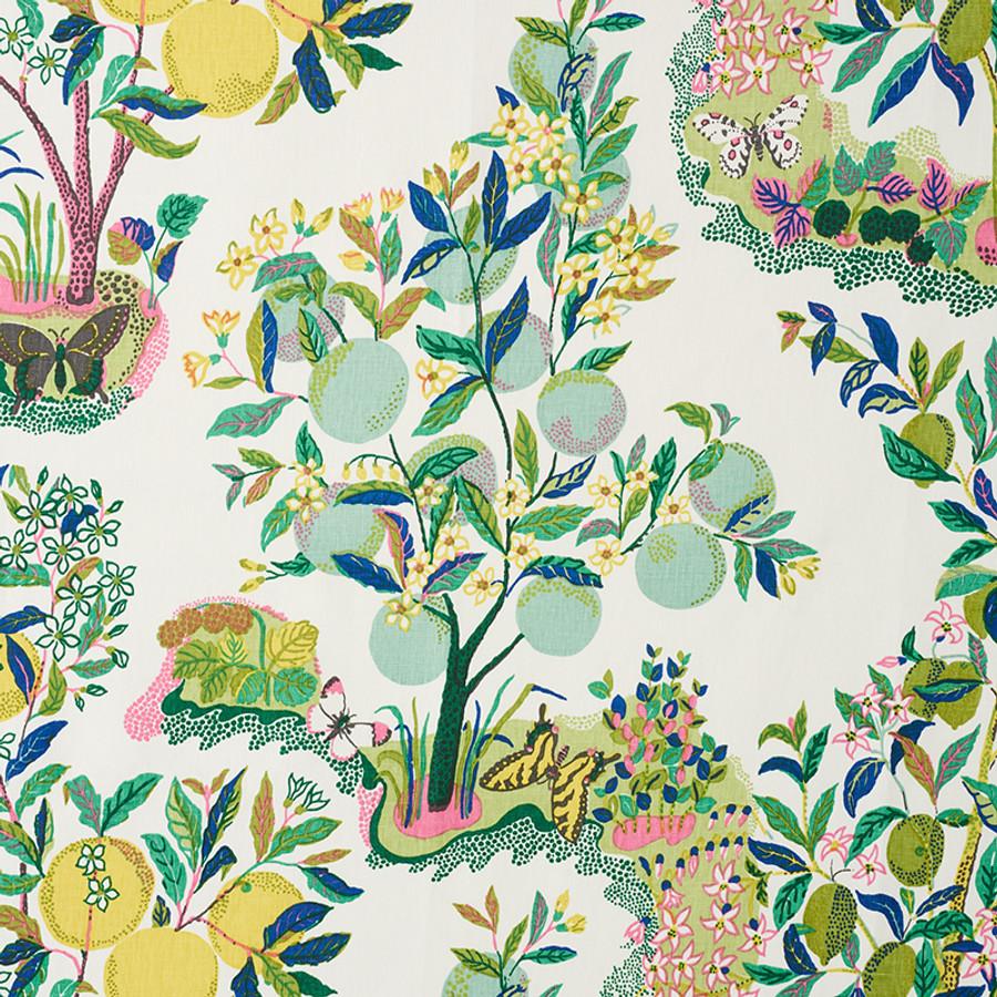 Schumacher Citrus Garden Lime 175762