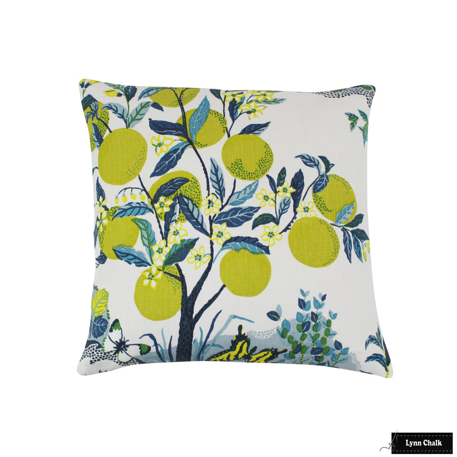 Schumacher Citrus Garden Indoor/Outdoor in Pool 177331- 2 Yard Minimum Order