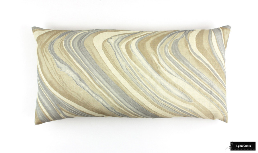 Kelly Wearstler Barcelo Alabaster Pillow (12 X 24)