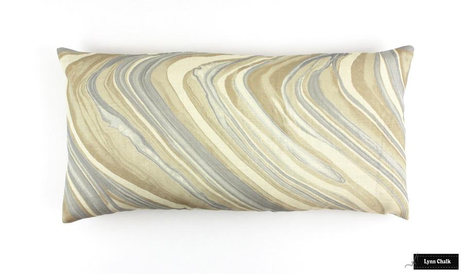 Kelly Wearstler Barcelo Alabaster Pillow (12 X 24)