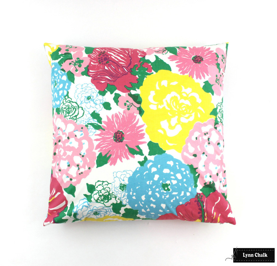 Lilly Pulitzer Heritage Floral Multi Pillow (20 X 20)