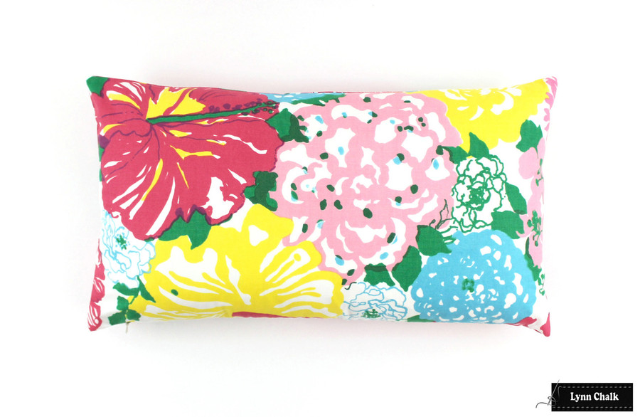 Lilly Pulitzer Heritage Floral Multi Pillow (12 X 20)