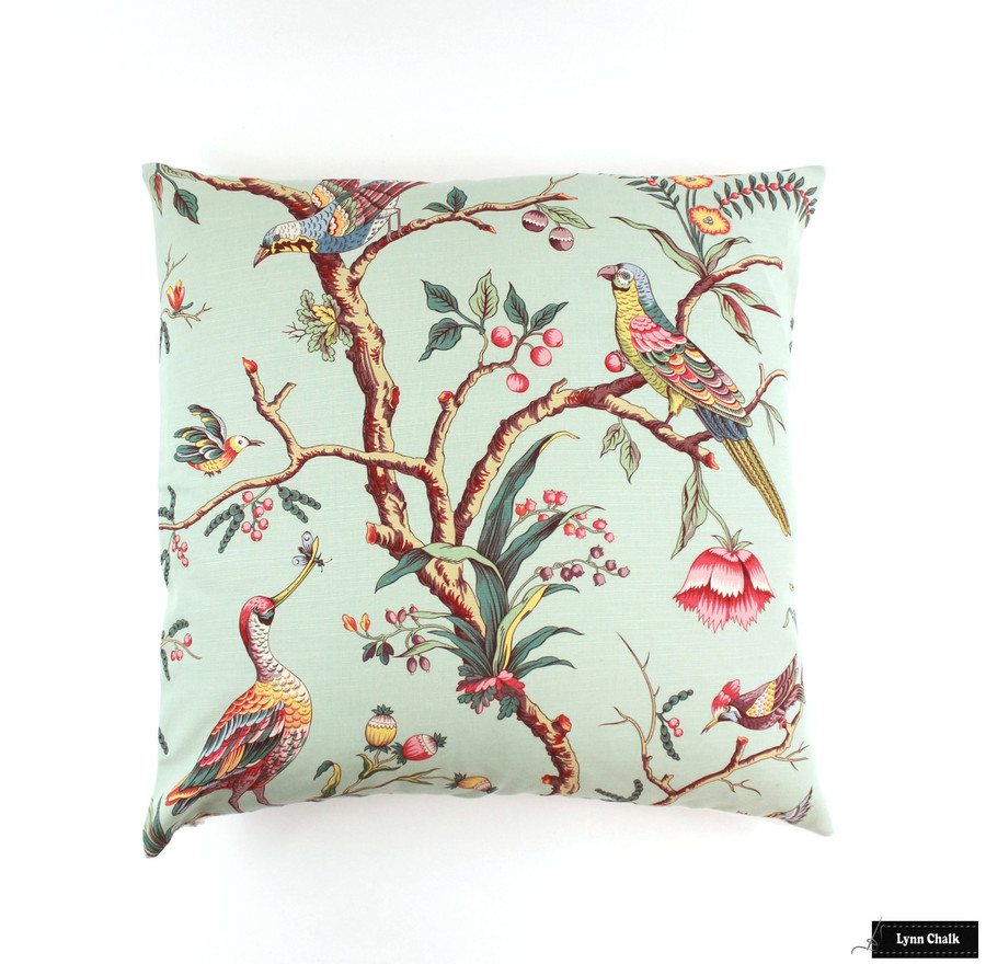 Brunschwig & Fils Birds of a Pillow in Eladon (24 X 24)