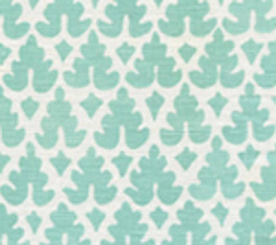 Volpi Turquoise on White 304040FW