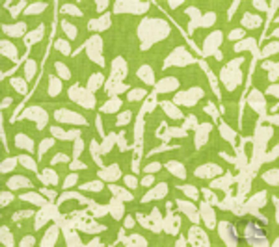 Quadrille Arbre De Matisse Reverse -Jungle Green