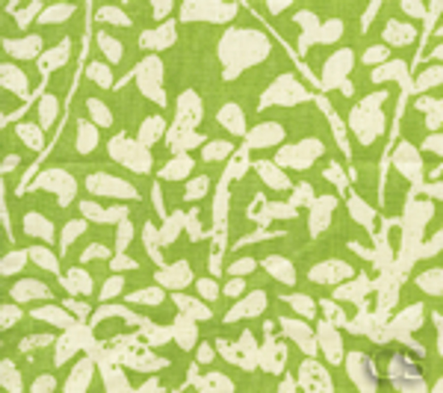 Quadrille Arbre De Matisse Reverse -Jungle Green