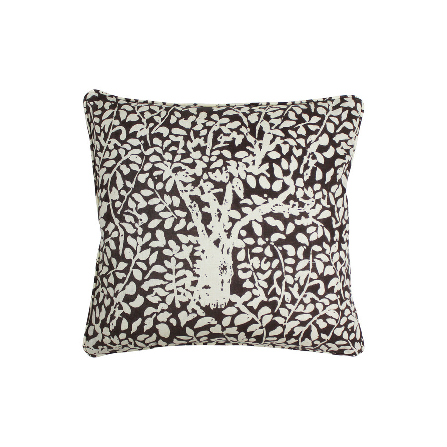 Arbre De Matisse  Reverse Brown on Tint 2035-07 Pillow (20 X 20)