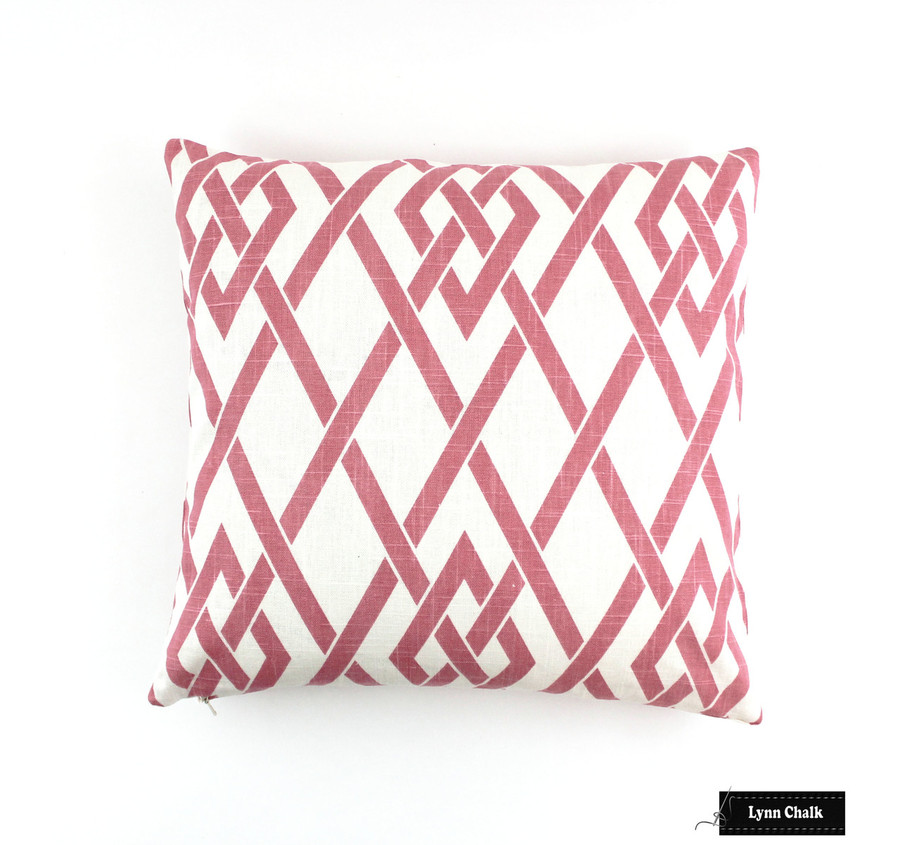 ON SALE 50% Off - Robert Allen Morgan Marie Blossom Pink Pillows  (Both Sides - 18 X 18)