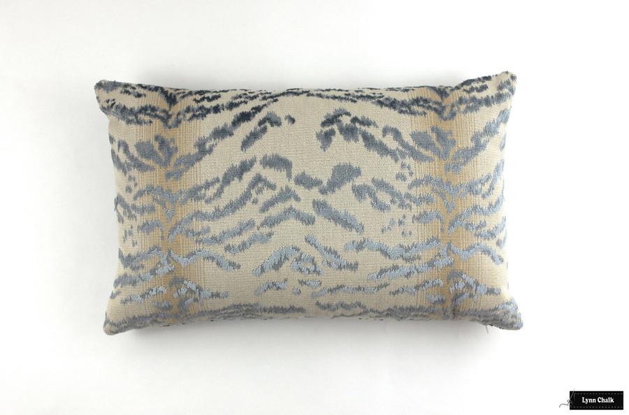 Cowtan & Tout Rajah Blue Pillow (14 X 24)