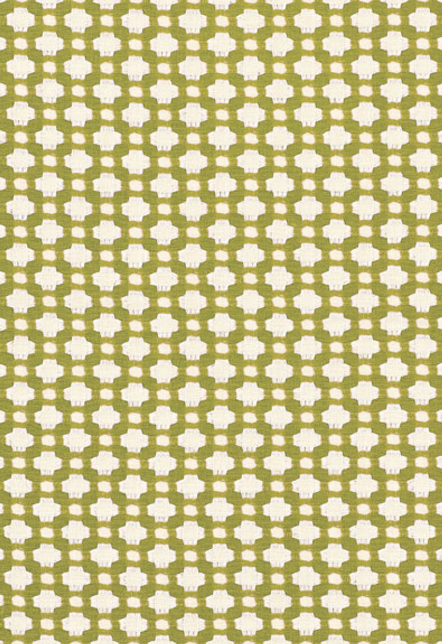 Schumacher Celerie Kemble Betwixt 62614 Grass Ivory