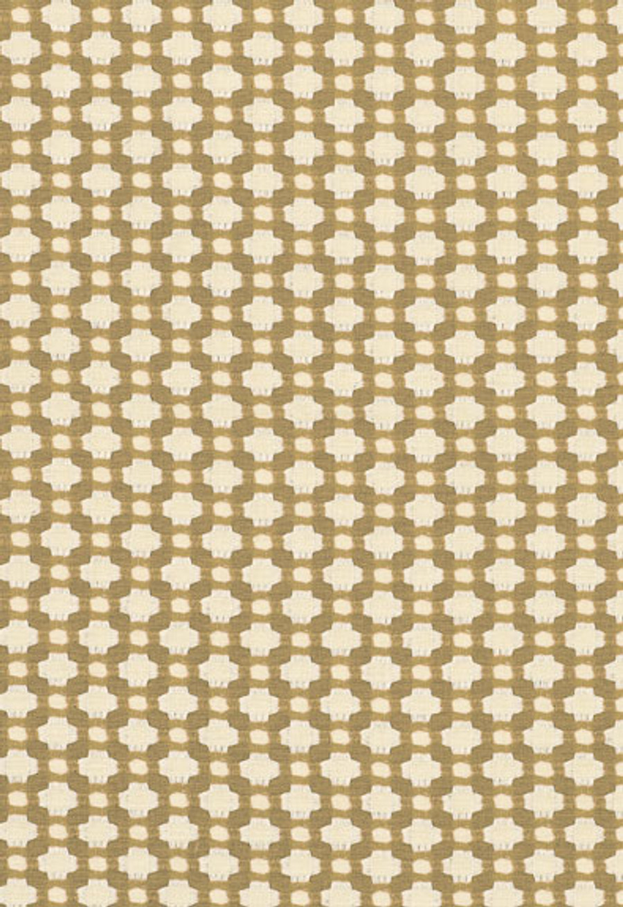 Schumacher Celerie Kemble Betwixt 62616 Biscuit Ivory