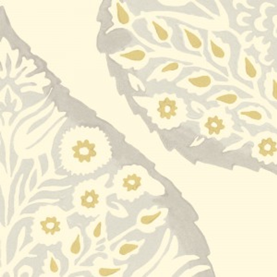 Lotus Wallpaper Dove Grey