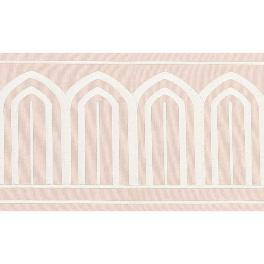 Schumacher Arches Trim Blush 70774