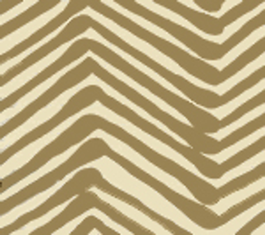 Quadrille Alan Campbell Zig Zag Taupe on Tint AC302-11