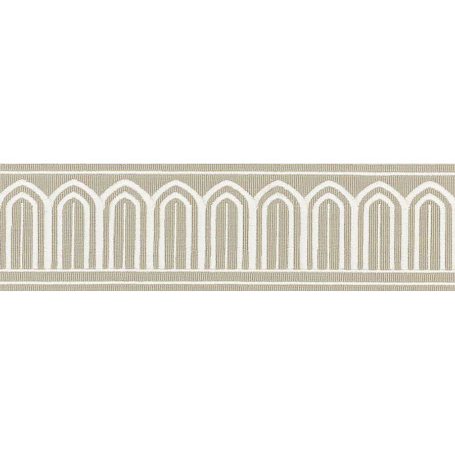 Schumacher Arches Trim Taupe 70765