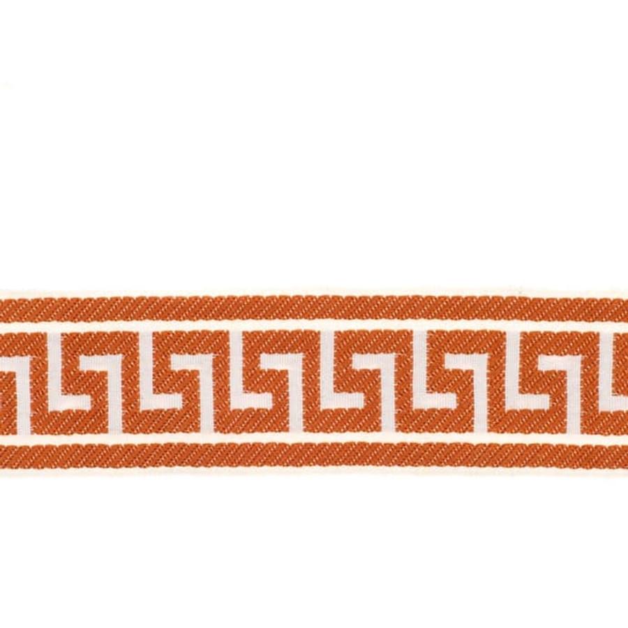 Fabricut Athens Key Trim Tangerine