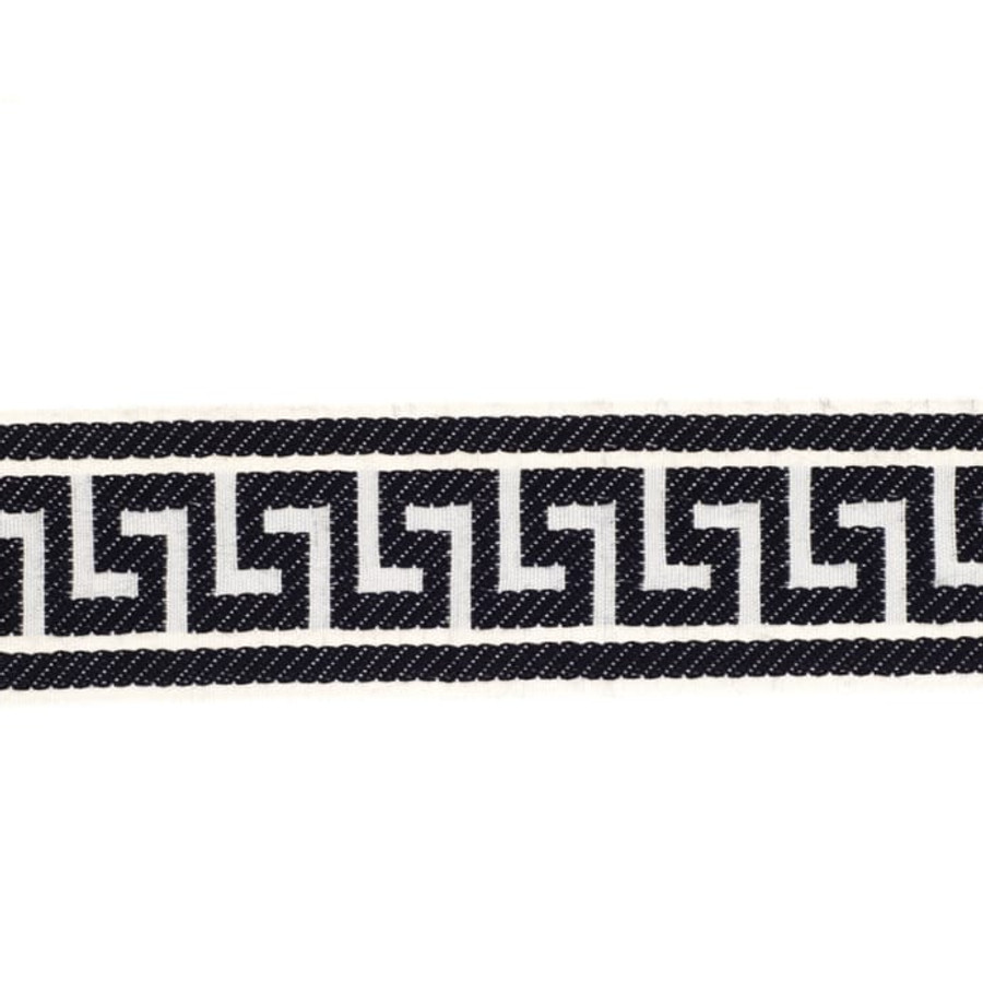 Fabricut Athens Key Trim Navy