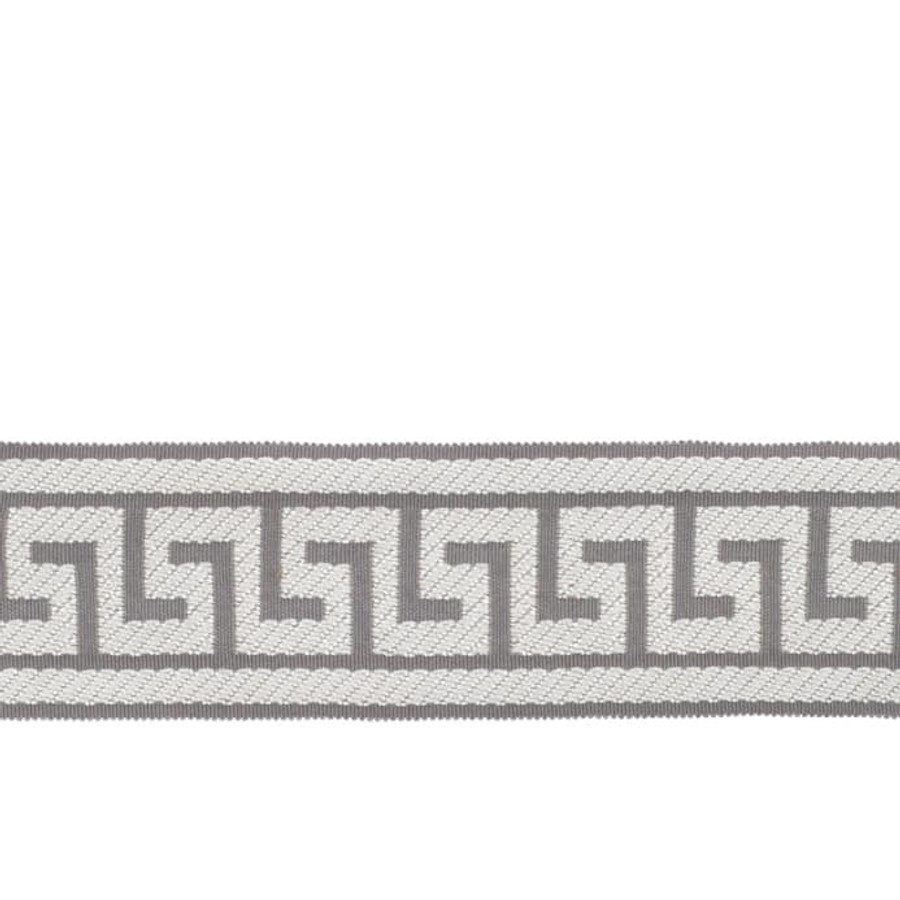 Fabricut Athens Key Trim Grey
