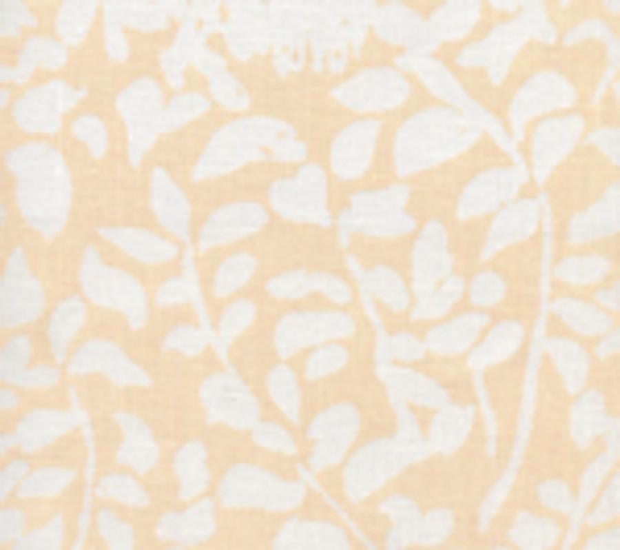 Quadrille Arbre De Matisse  Reverse Soft Peach on White 2035N-SPEACH