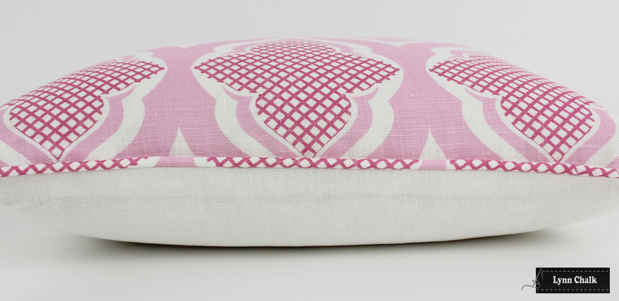 ON SALE 55% Off - Christopher Farr Pillows in Venecia Hot Pink with Self Welting (Front Only-18 X 18)