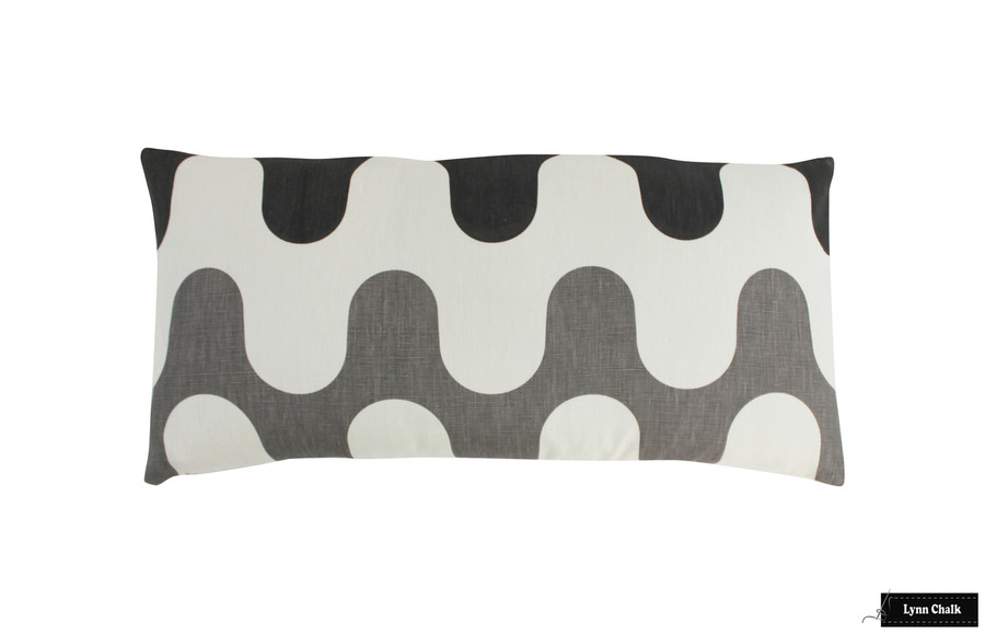 ON SALE 60% Off - Martyn Lawrence Bullard Majorelle Baltic Pillow (Front Only-12 X 24)