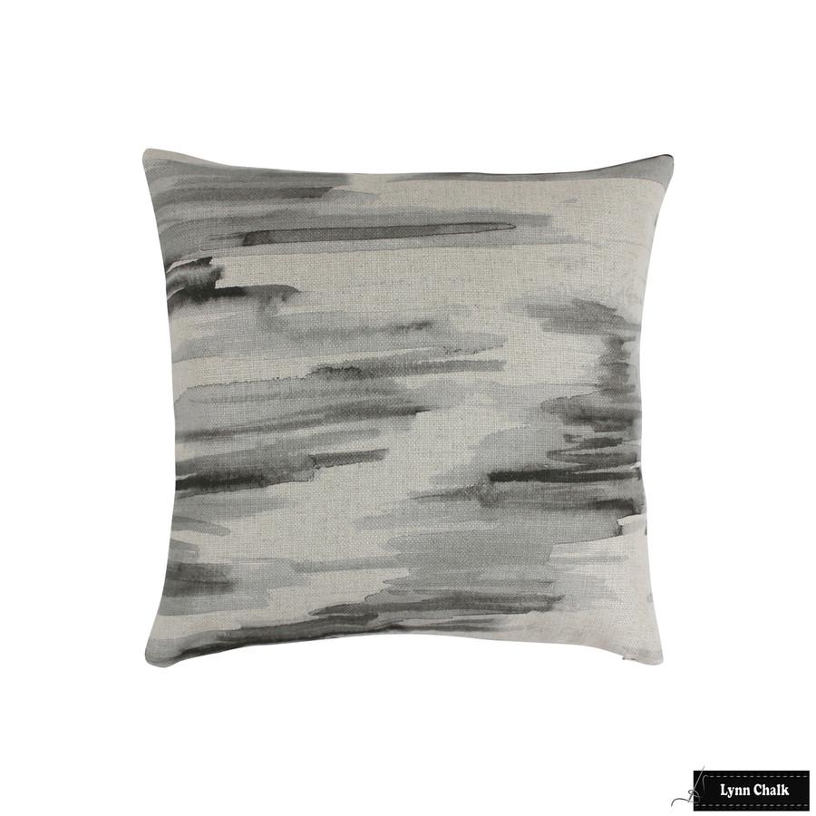 Barbara Barry Lee Jofa Awash Cinder Pillows (20 X 20)