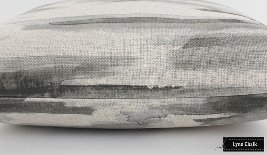Barbara Barry Lee Jofa Awash Cinder Pillows