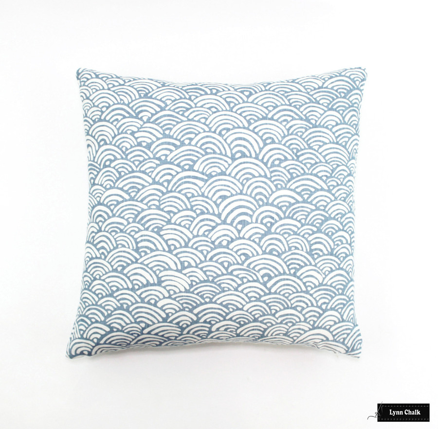Duralee Lulu DK Bungalow Light Blue LE42558-7 Pillow