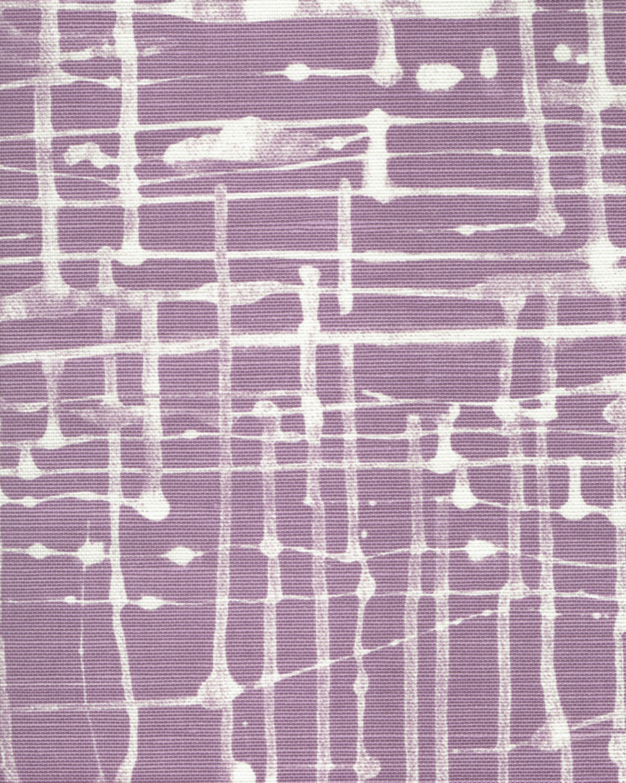 Quadrille Alan Campbell Twill Reverse Lavender on Tint AC995T 05TLC