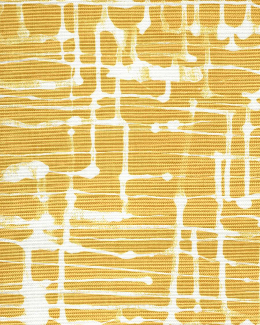 Quadrille Alan Campbell Twill Reverse Inca Gold on Tint AC995T 09TLC