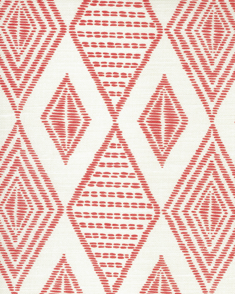 Quadrille Allen Campbell Safari Embroidery Melon on Tint AC850-01