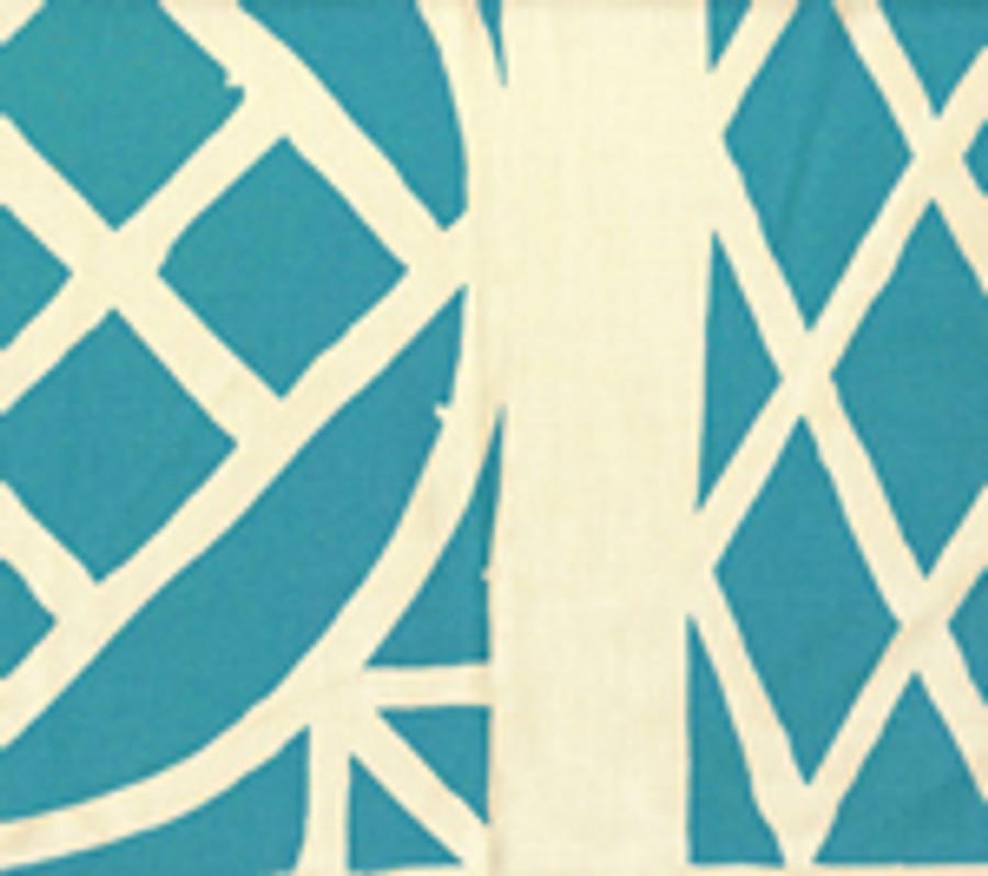 Trellis Background Wallpaper Turquoise On Tint
